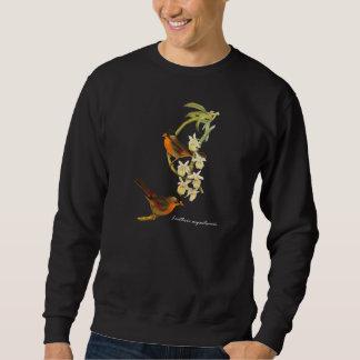 Silver-eared Mesia (Leiothrix argentauris) Pull Over Sweatshirts