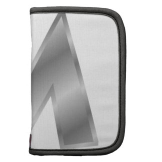 Silver Effect Letter M Organizers