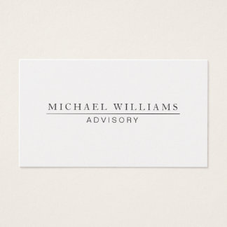 SILVER ELEGANT PROFESSIONAL METAL MODERN PEARL BUSINESS CARD