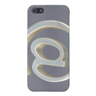 Silver Email Symbol iPhone SE/5/5s Case