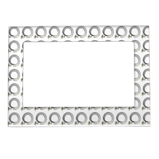 Silver Enso with Kanji character for Harmony Frame Magnets