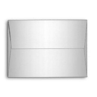 Silver Envelope 5 x 7
