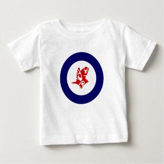 Silver Eye Tauhou, Roundel Baby T-Shirt