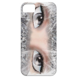 Silver Eyes iPhone 5 Case