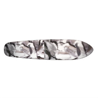 SILVER FACE MASK SKATEBOARD DECK