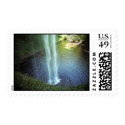 Silver Falls 1 Stamp