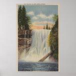 Silver Falls on Silver Creek, Oregon View Poster