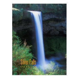 Silver Falls, Oregon Postcard