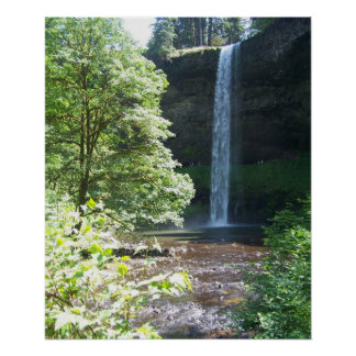 Silver Falls State Park Poster