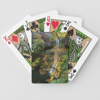 Silver Falls Waterfall Playing Cards