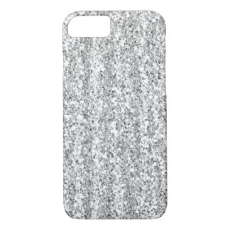 Silver Faux Glitter iPhone 7 case