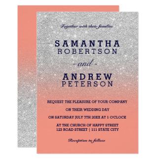coral wedding invitations & announcements | zazzle, Wedding invitations