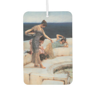 Silver Favorites by Lawrence Alma-Tadema Air Freshener