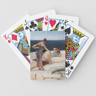 Silver Favorites by Lawrence Alma-Tadema Bicycle Playing Cards