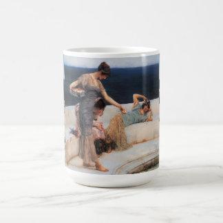 Silver Favorites by Lawrence Alma-Tadema Coffee Mug
