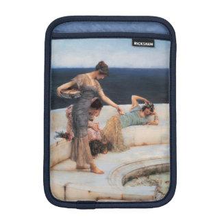 Silver Favorites by Lawrence Alma-Tadema iPad Mini Sleeve