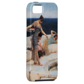 Silver Favorites by Lawrence Alma-Tadema iPhone SE/5/5s Case