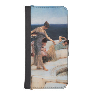 Silver Favorites by Lawrence Alma-Tadema iPhone SE/5/5s Wallet Case