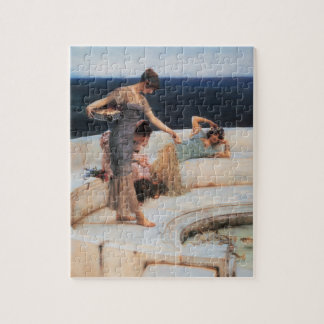 Silver Favorites by Lawrence Alma-Tadema Jigsaw Puzzle