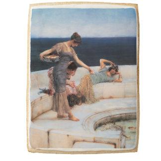 Silver Favorites by Lawrence Alma-Tadema Jumbo Shortbread Cookie
