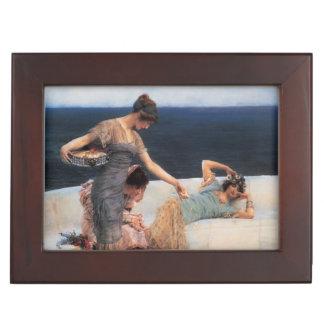 Silver Favorites by Lawrence Alma-Tadema Memory Box