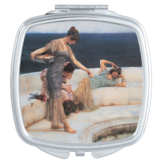 Silver Favorites by Lawrence Alma-Tadema Mirror For Makeup