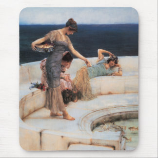 Silver Favorites by Lawrence Alma-Tadema Mouse Pad