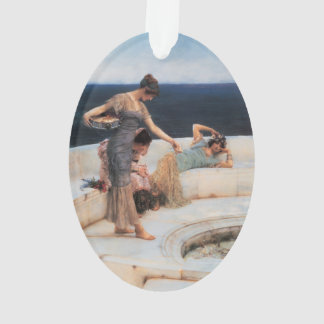 Silver Favorites by Lawrence Alma-Tadema Ornament