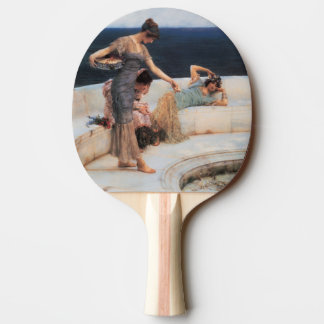 Silver Favorites by Lawrence Alma-Tadema Ping Pong Paddle