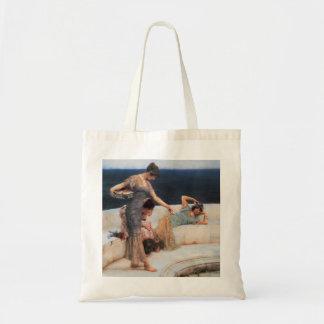 Silver Favorites by Lawrence Alma-Tadema Tote Bag