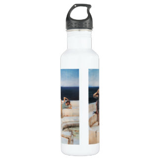 Silver Favorites by Lawrence Alma-Tadema Water Bottle
