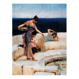 Silver Favourites (harem girls) ~ Postcard