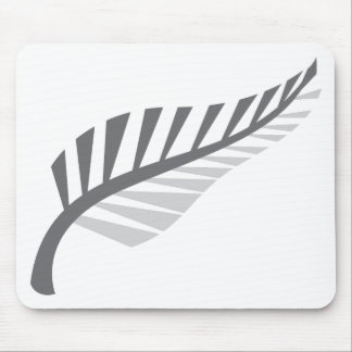 Silver Fern Awesome New Zealand image Mouse Pad