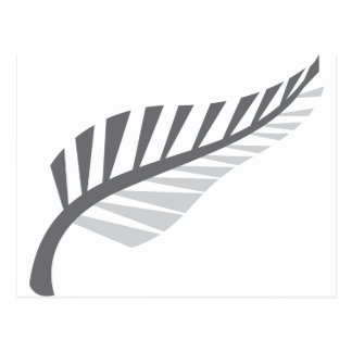 Silver Fern Awesome New Zealand image Postcard