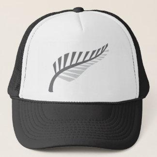 Silver Fern Awesome New Zealand image Trucker Hat