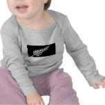 Silver Fern Flag (New Zealand) Tshirt