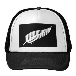Silver Fern Flag of New Zealand Trucker Hat