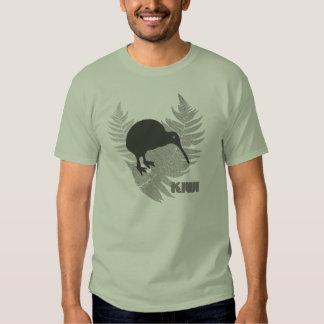 Silver Fern Kiwi Mens T-Shirt