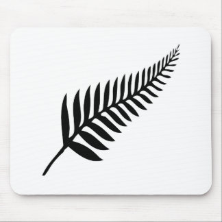 Silver Fern of New Zealand Mouse Pad