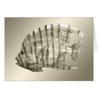 Silver Fish Card