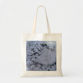 Silver Flakes Budget Tote Bag