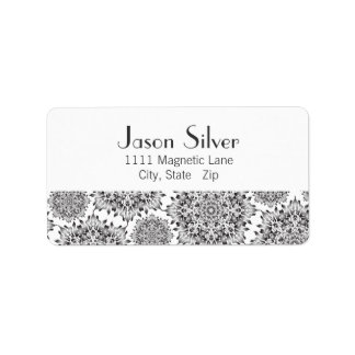 Silver Flame Address Labels