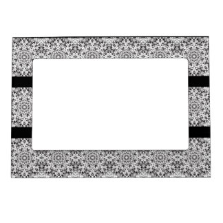 Silver Flame Magnetic Photo Frame