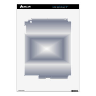 Silver Flare Decal For iPad 2