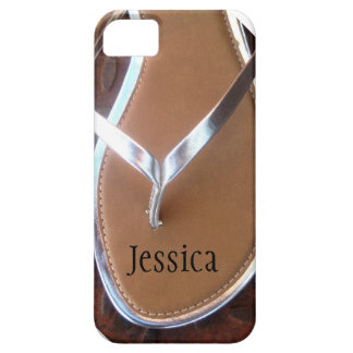 Silver Flip Flop Phone Case