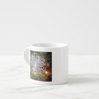 Silver Flower Ornament Speciality Mug