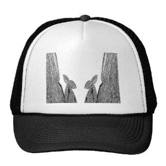 SILVER foil Cactus  -  Green Theme Trucker Hats