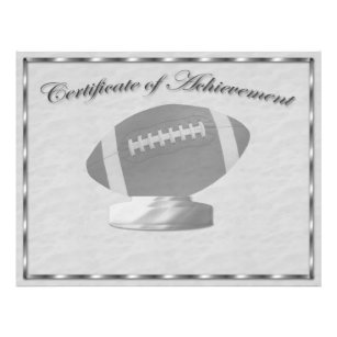 certificate of achievement flyers zazzle