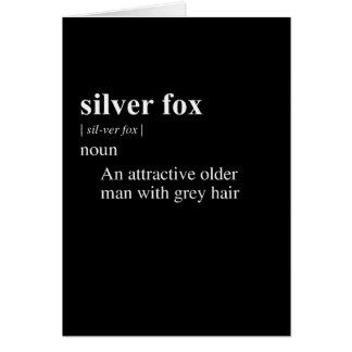 SILVER FOX DEFINITION CARD