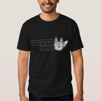 Silver fox logo t shirt